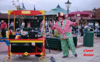 Clown Bonzo with Plate Spinning and Balloon Modelling